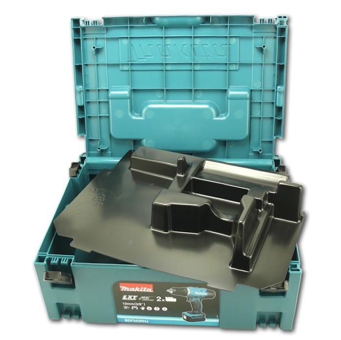 makita bhp 458 lxt 18 v li ion akku schlagbohrschrauber set inkl macpac ebay. Black Bedroom Furniture Sets. Home Design Ideas