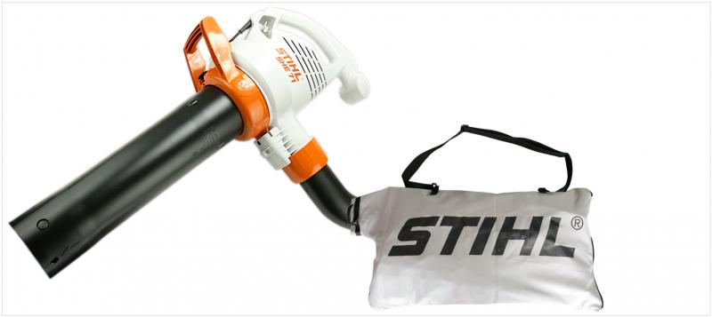 Stihl she 71 elektro saugh cksler laubbl ser inkl schutzbrille und saugsack ebay - Stihl she 71 ...