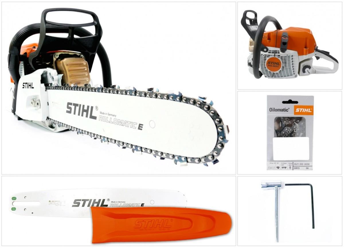 stihl ms 362 c kettens ge motors ge mit 37 cm 1 6 mm kette 1140 011 3075 ebay. Black Bedroom Furniture Sets. Home Design Ideas