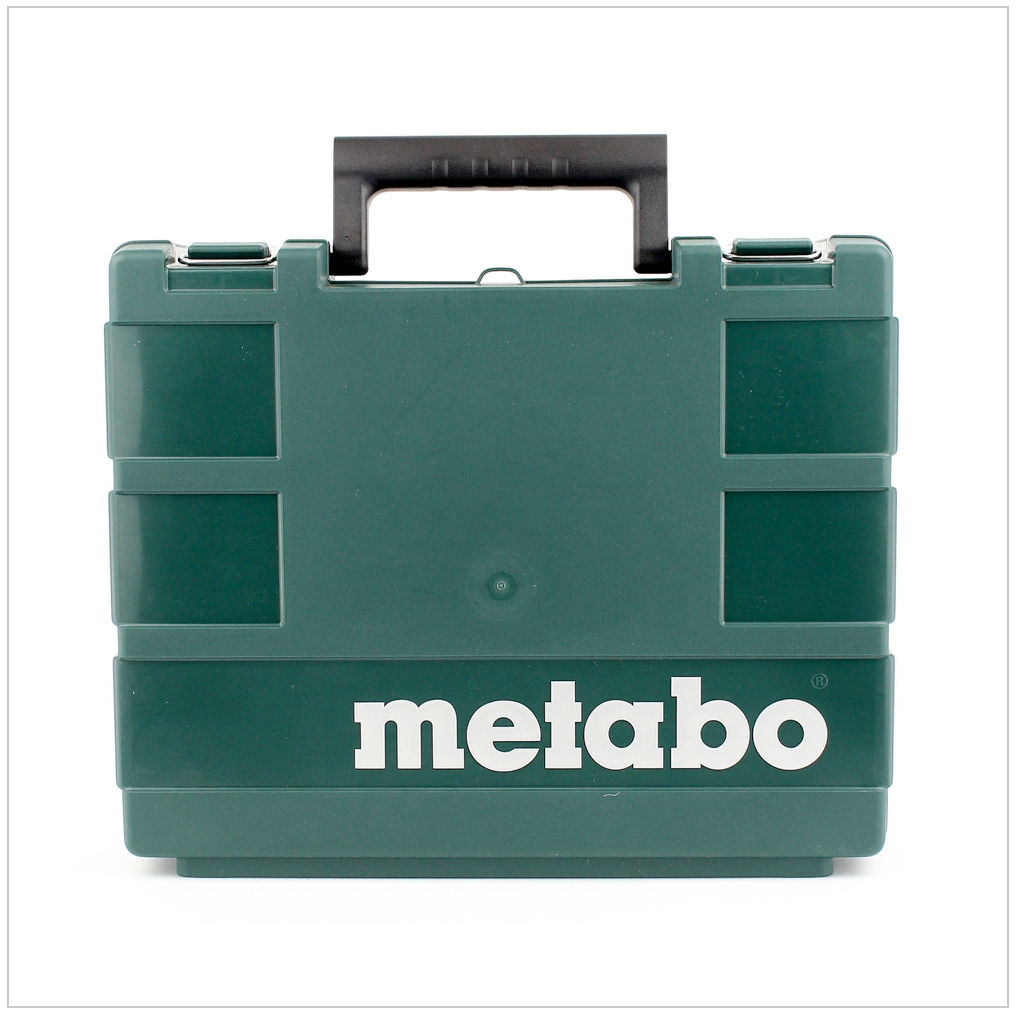 metabo powermaxx bs 10 8v akku bohrschrauberim koffer 2x 2ah akku lampe lader ebay. Black Bedroom Furniture Sets. Home Design Ideas