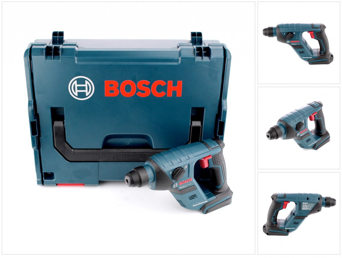 bosch gbh 18 v li compact professional bohrhammer solo in l boxx 0611905304 ebay. Black Bedroom Furniture Sets. Home Design Ideas