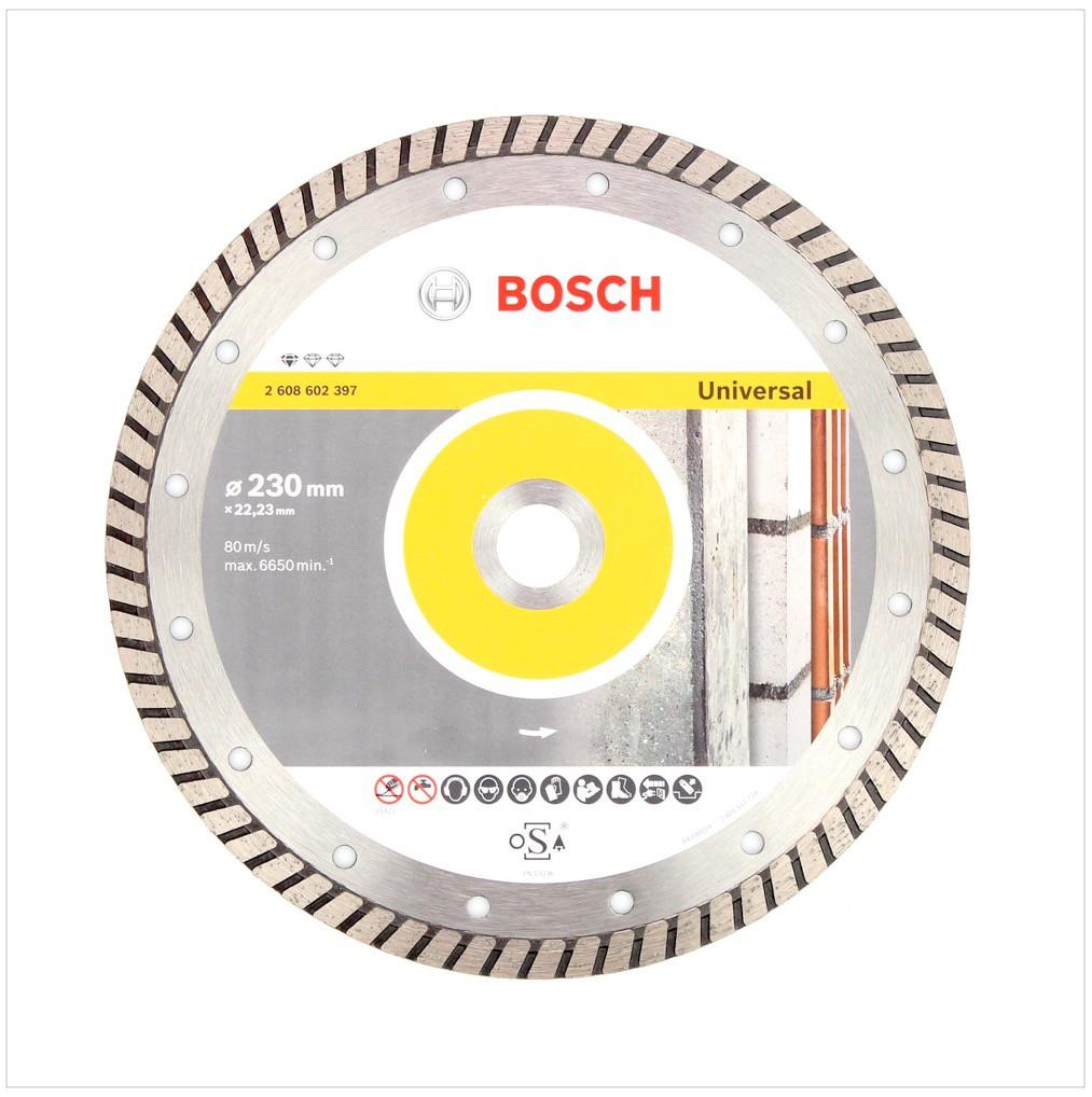bosch diamanttrennscheibe 230 x 22 23 standard for. Black Bedroom Furniture Sets. Home Design Ideas