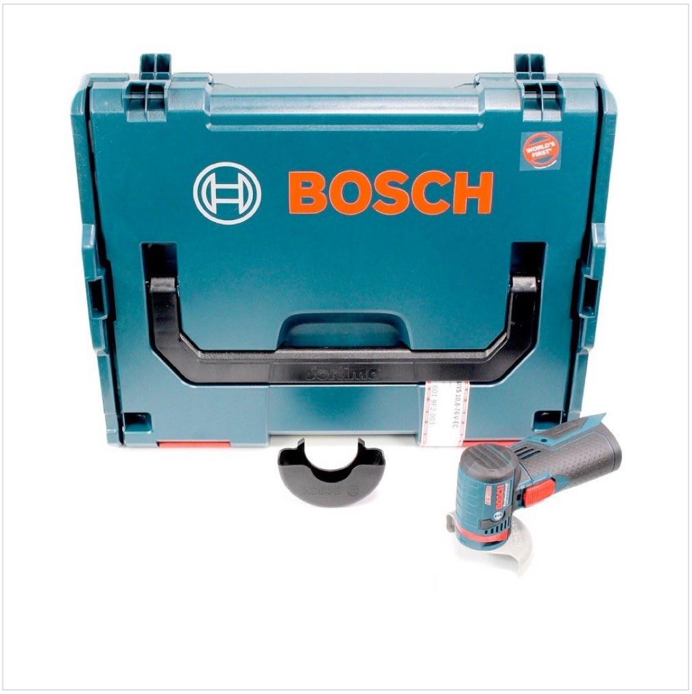 bosch gws 10 8 76 v ec akku winkelschleifer trennscheiben set in l boxx. Black Bedroom Furniture Sets. Home Design Ideas